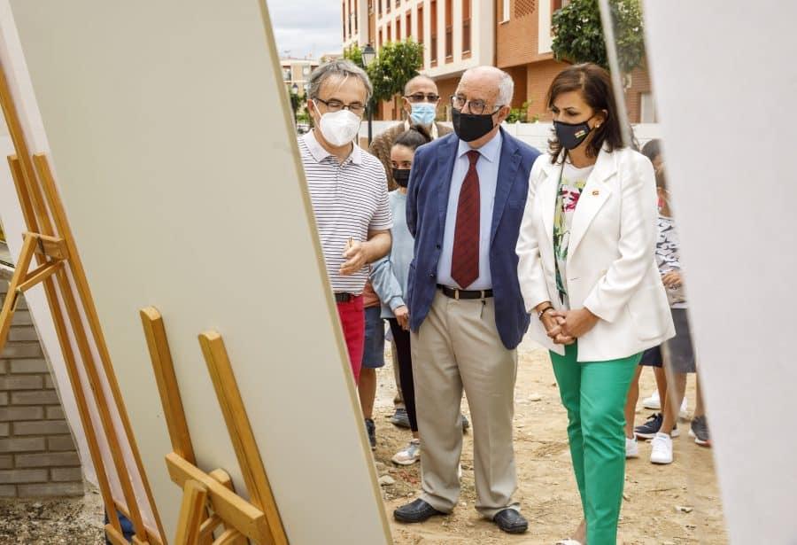 Casalarreina coloca la primera piedra de su futuro colegio que estará listo en 2023 1