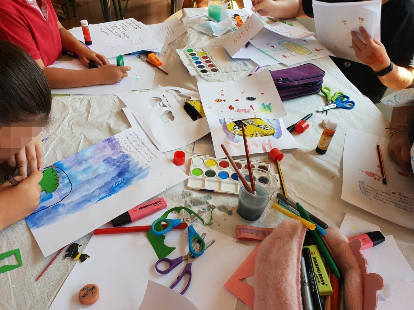 Cuzcurrita amplía sus talleres infantiles al mes de agosto 1
