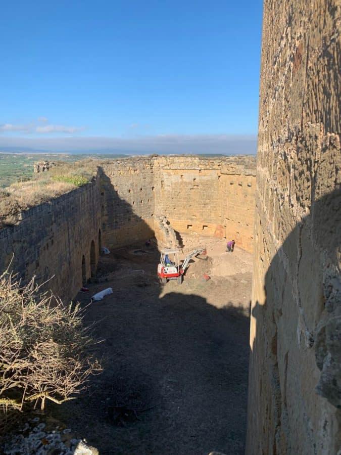 CVNE inicia las labores de rehabilitación del Castillo de Davalillo 2
