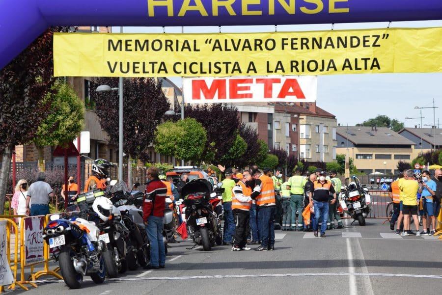 David Busto vence en Haro en el regreso del Memorial Álvaro Fernández 79