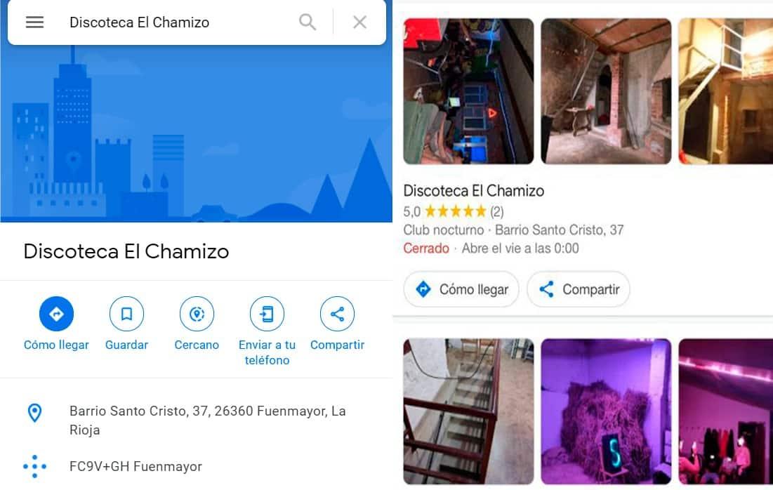 Desalojado un local en Fuenmayor que se anunciaba como discoteca en internet 4