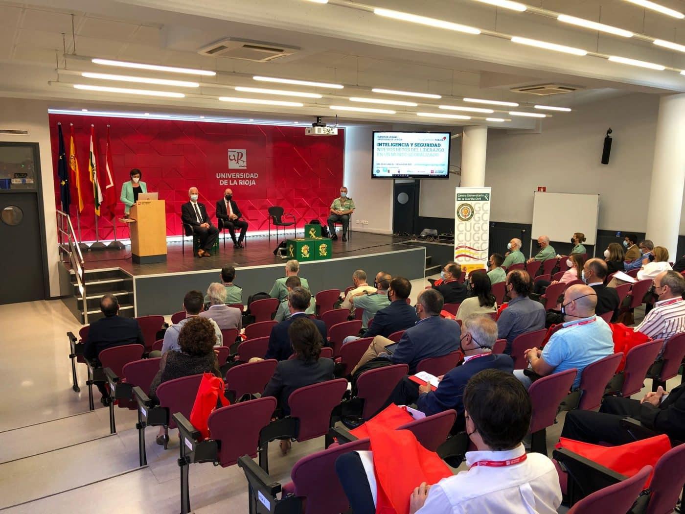 El Curso de Verano Inteligencia y Seguridad de la Guardia Civil aporta 4.058 euros al Banco de Alimentos de La Rioja 1