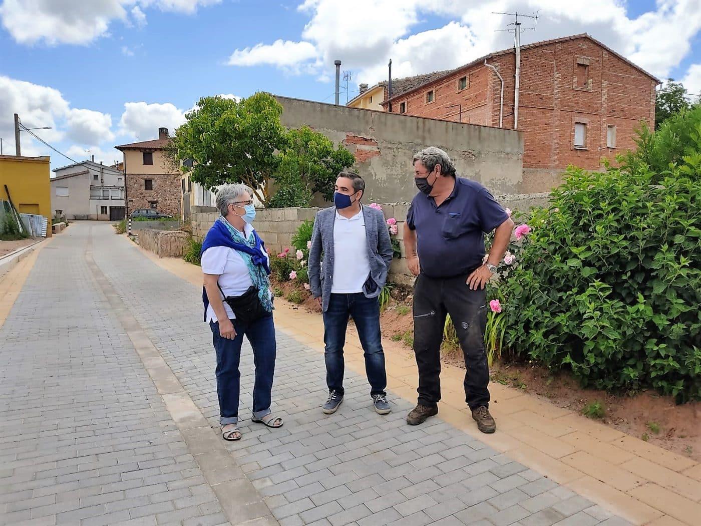 El Gobierno riojano invierte 560.000 euros en Berceo, San Millán, Estollo, Cirueña y Villarejo 3