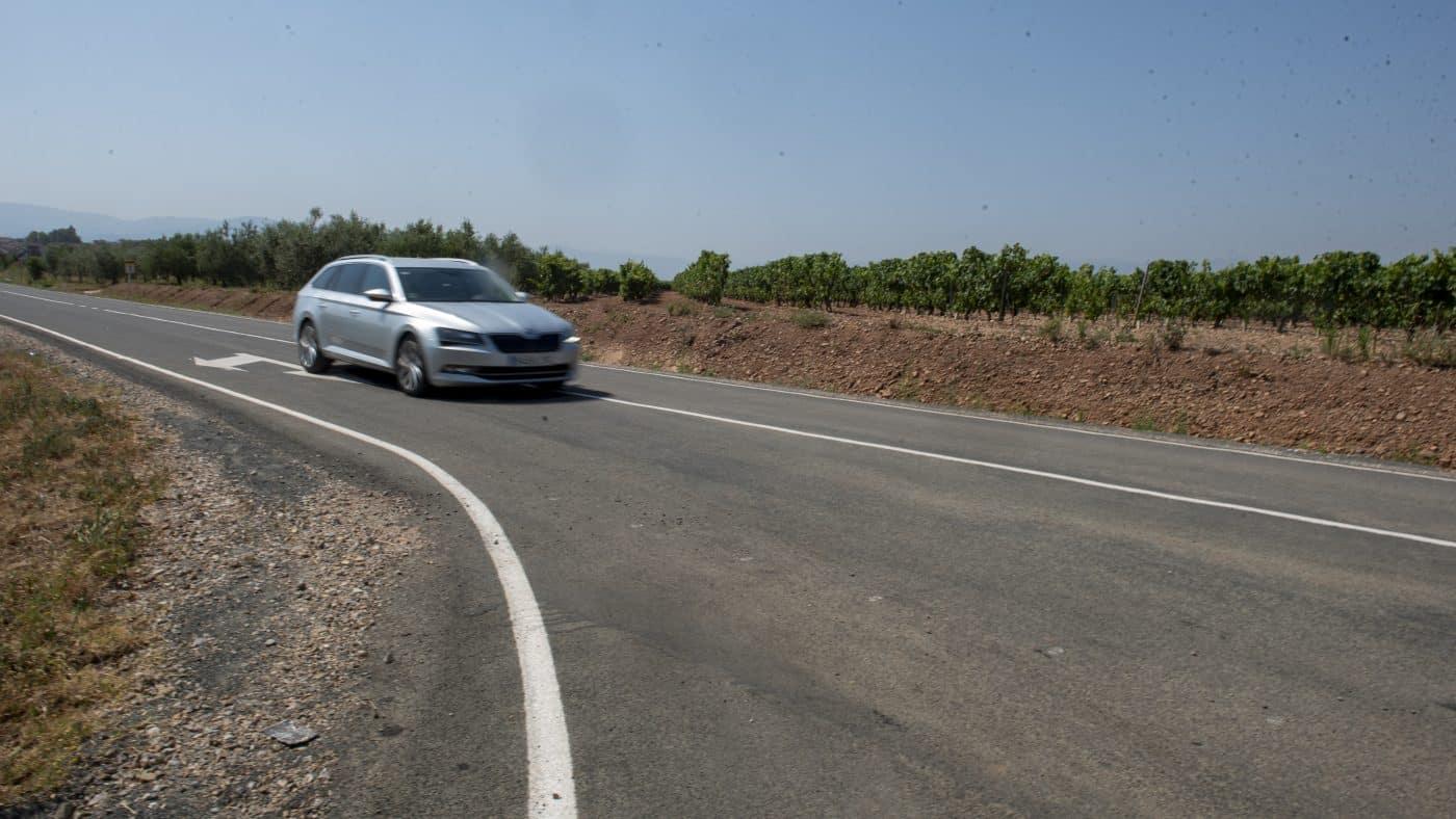 Finalizan las obras de acondicionamiento de la LR-509 entre Uruñuela y Somalo 8