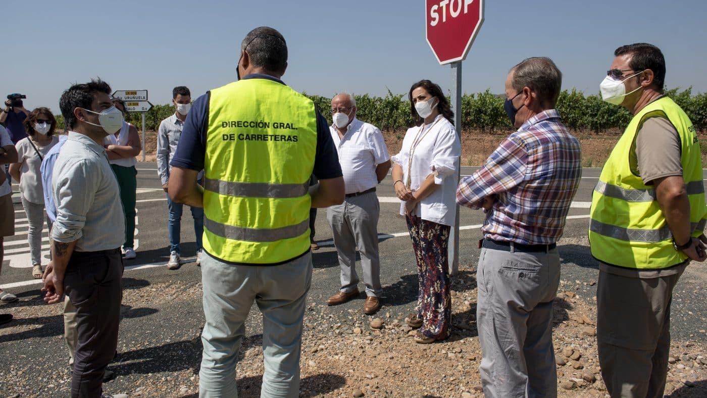 Finalizan las obras de acondicionamiento de la LR-509 entre Uruñuela y Somalo 6