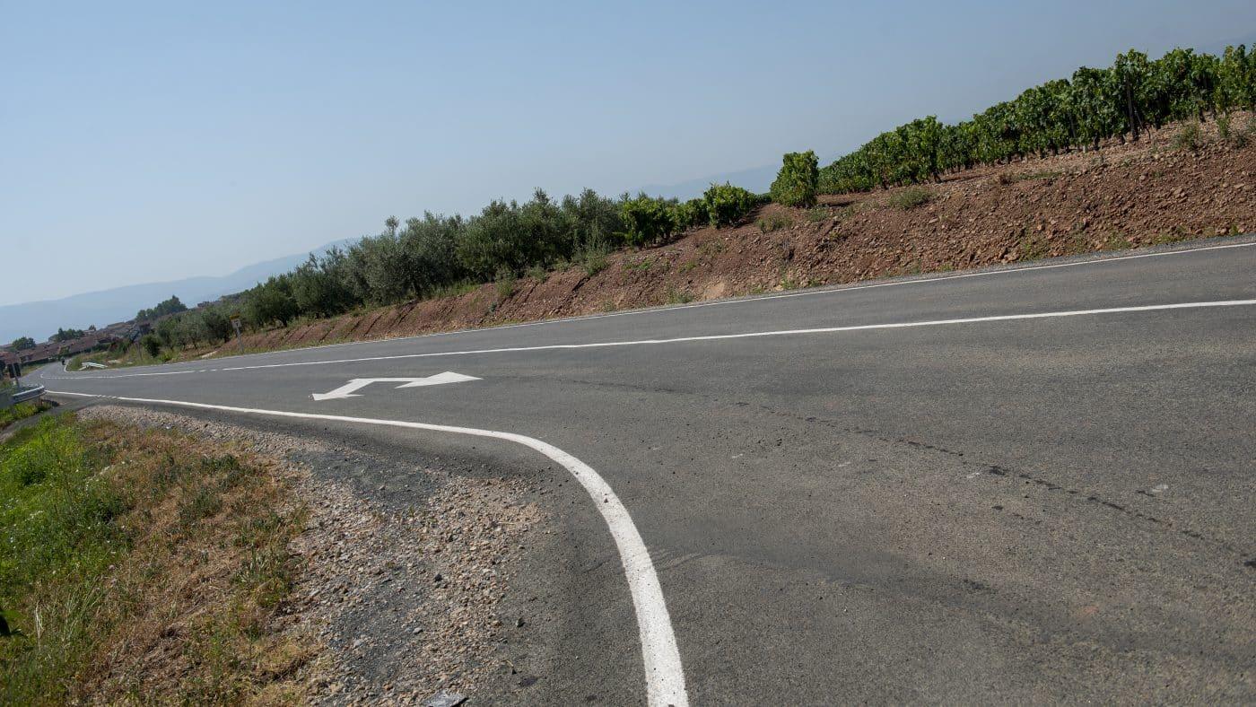 Finalizan las obras de acondicionamiento de la LR-509 entre Uruñuela y Somalo 5