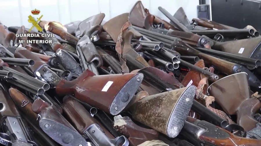 La Guardia Civil destruyó en La Rioja más de 500 armas en 2020 1