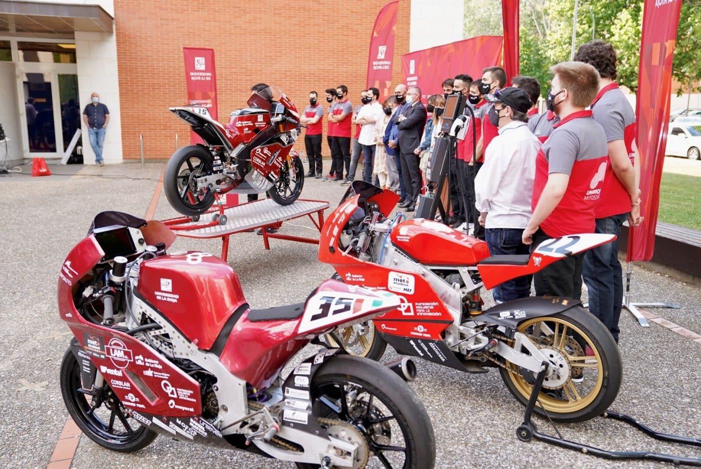 La moto eléctrica de la UR, lista para competir en el VI Certamen Internacional MotoStudent en Alcañiz 1