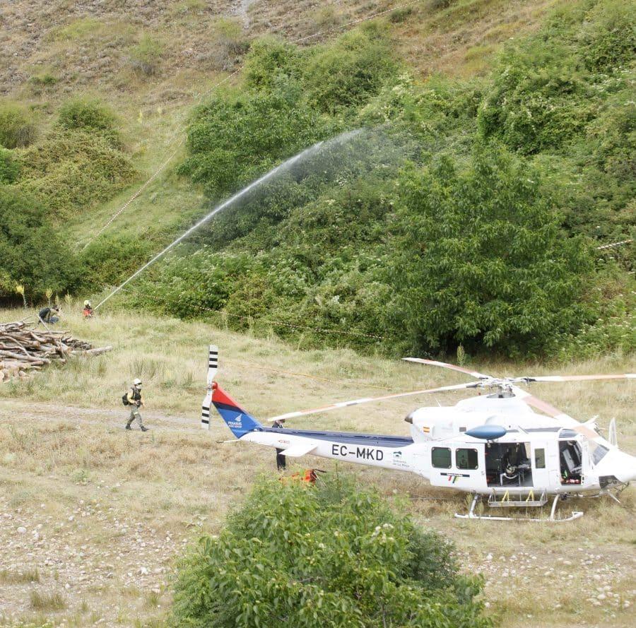La Rioja activa un dispositivo con 300 profesionales para afrontar la temporada de incendios forestales 1