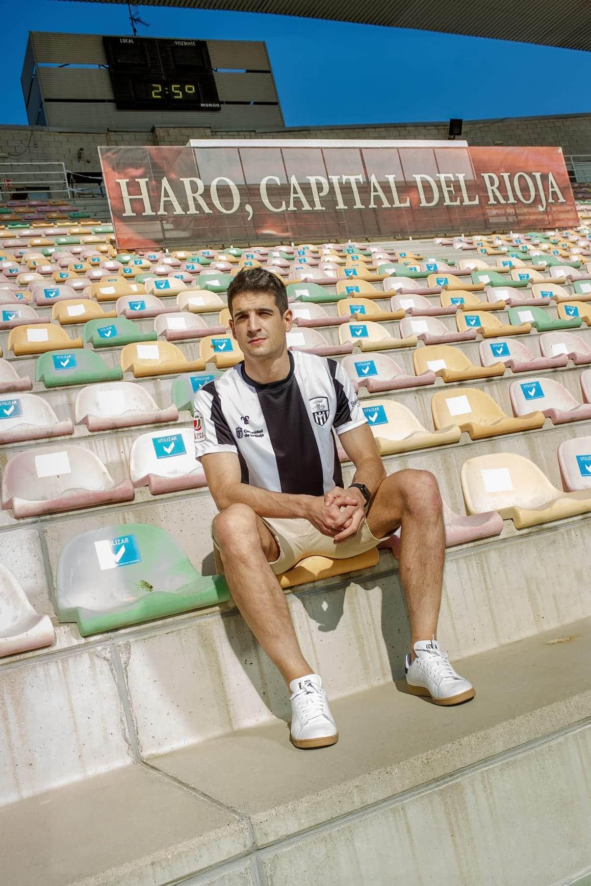 Luis Martínez Lacuesta retorna al Haro Deportivo 1