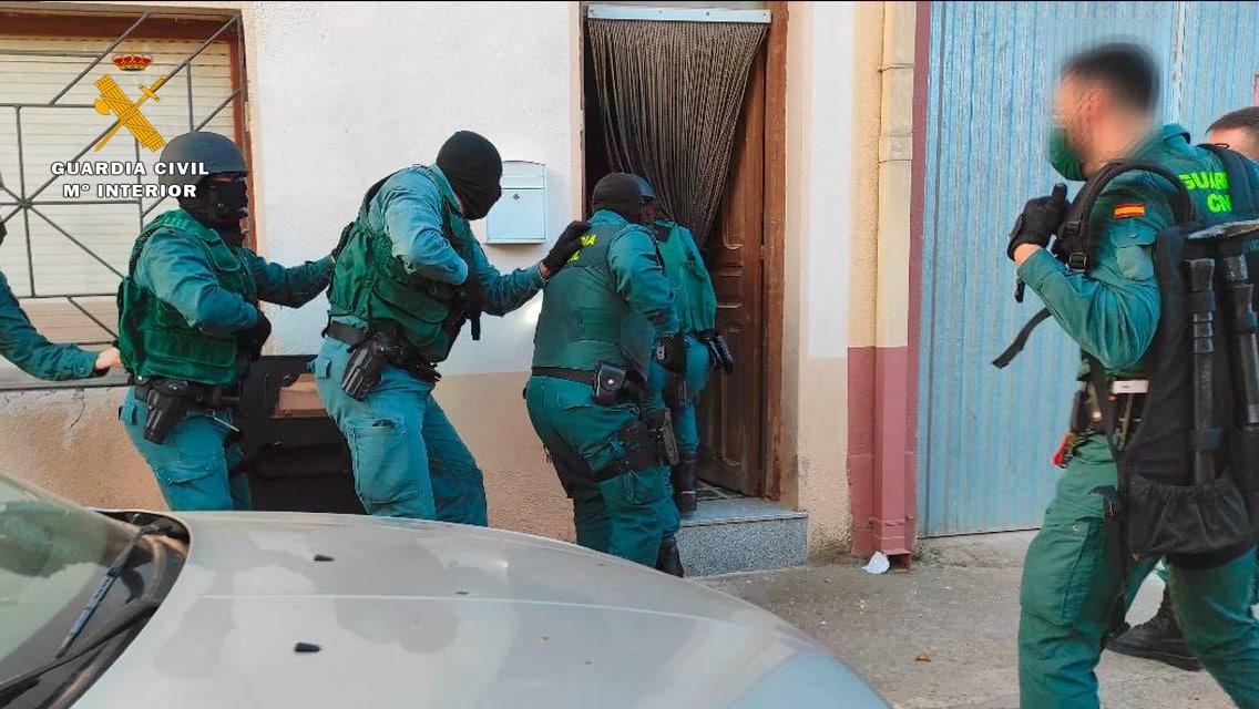 Operación 'Fianchetto': Desmantelado un punto de venta de droga en Rincón de Soto 7