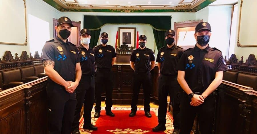Seis agentes de la Policía Local toman posesión de su plaza definitiva en Haro 1