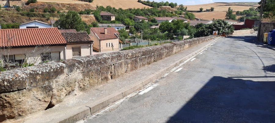 """Treviana en pie de guerra por el """"muro de la vergüenza"""" 2"""