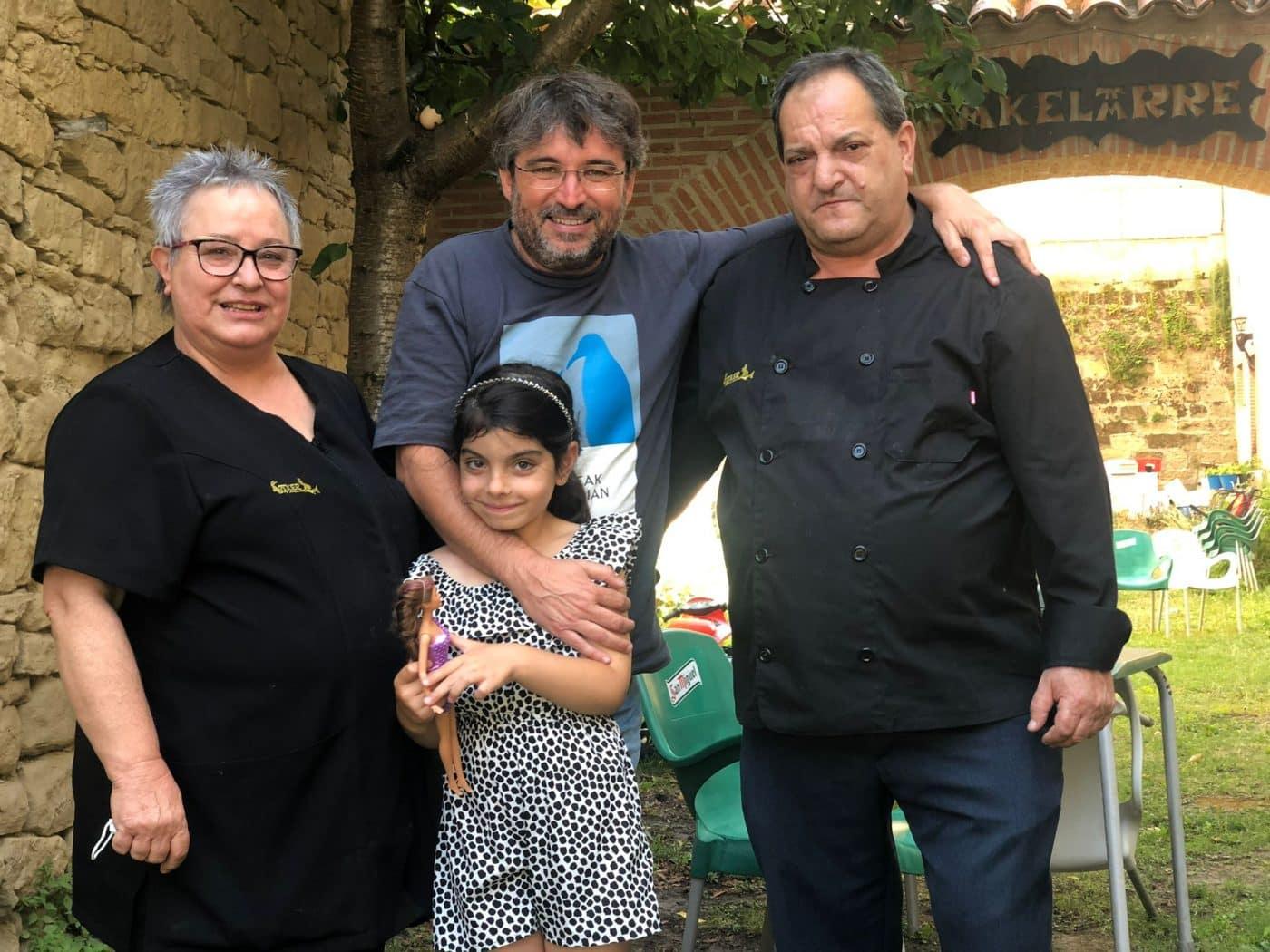 Jordi Évole disfruta de los encantos de La Rioja Alta 1