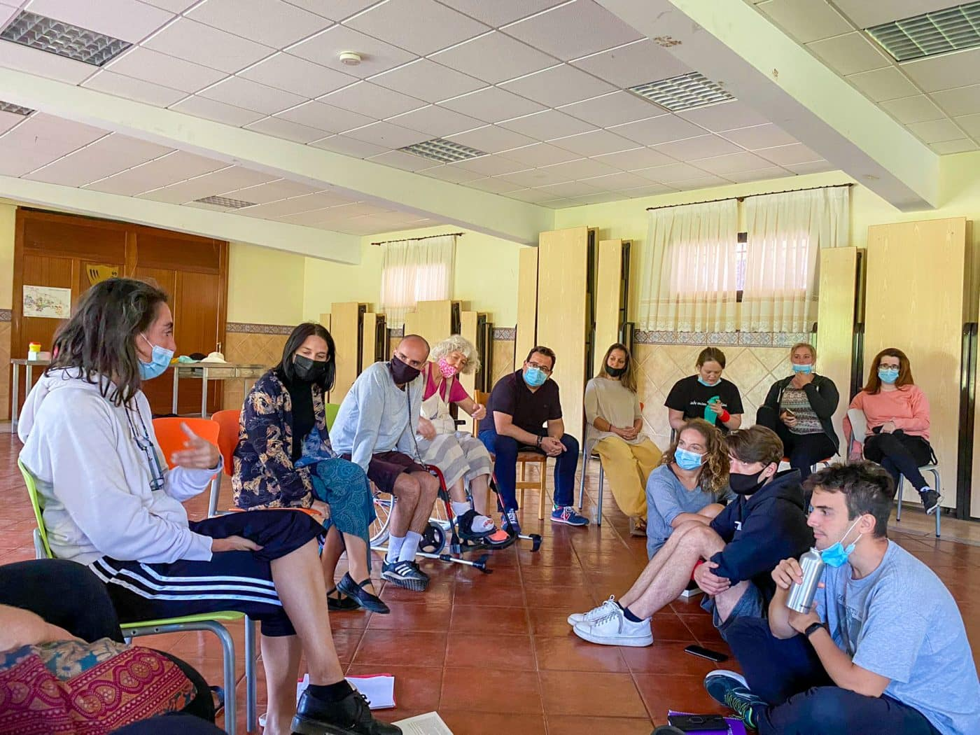 Ezcaray acoge el seminario europeo '(E)motion' para formadores del ámbito de la juventud 3