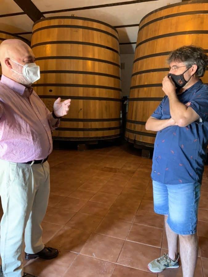 Jordi Évole disfruta de los encantos de La Rioja Alta 3