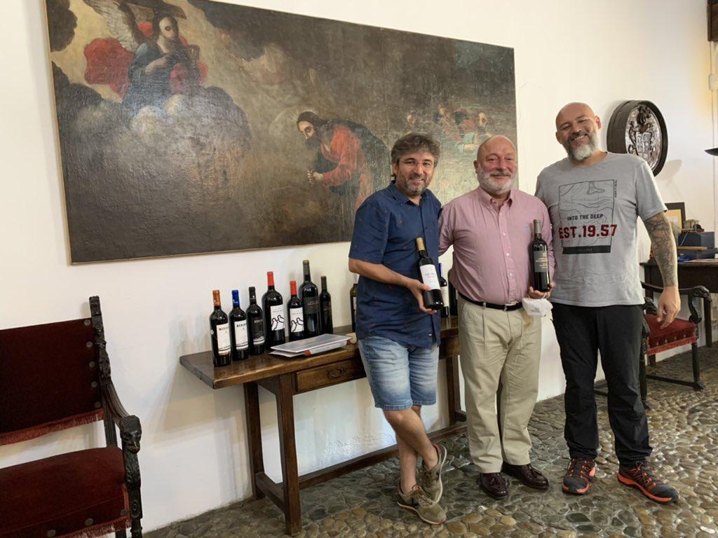 Jordi Évole disfruta de los encantos de La Rioja Alta 2