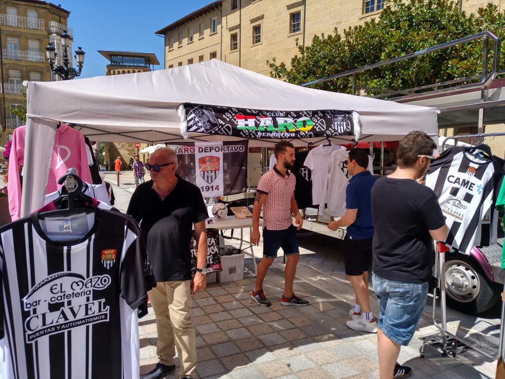 La feria Haro Stock vuelve a la plaza de la Paz los días 13 y 14 de agosto 1