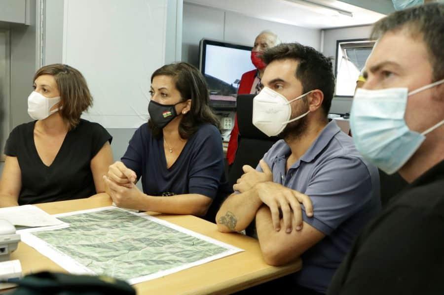 """El Gobierno riojano considera que hay """"altas probabilidades"""" de que el incendio de Ezcaray sea provocado 2"""