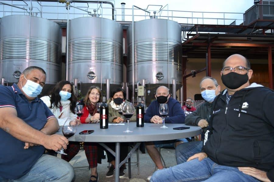 Bodega Arca de Noé presenta su nuevo vino en buena compañía 4