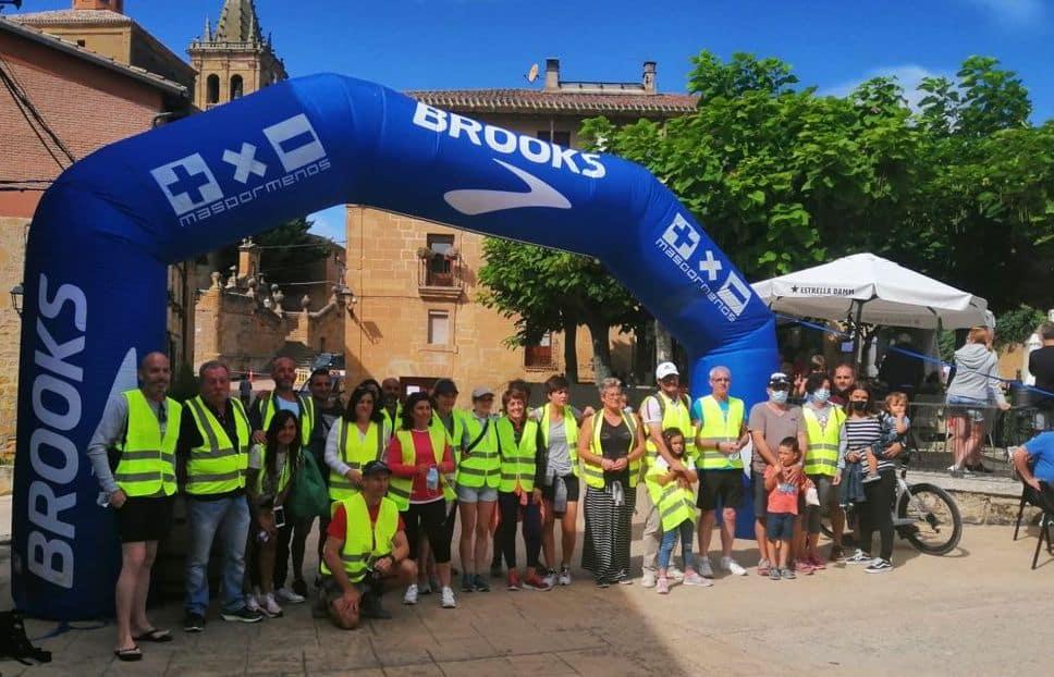 Éxito de la primera carrera 'Meandro del Ebro' de Briñas 1