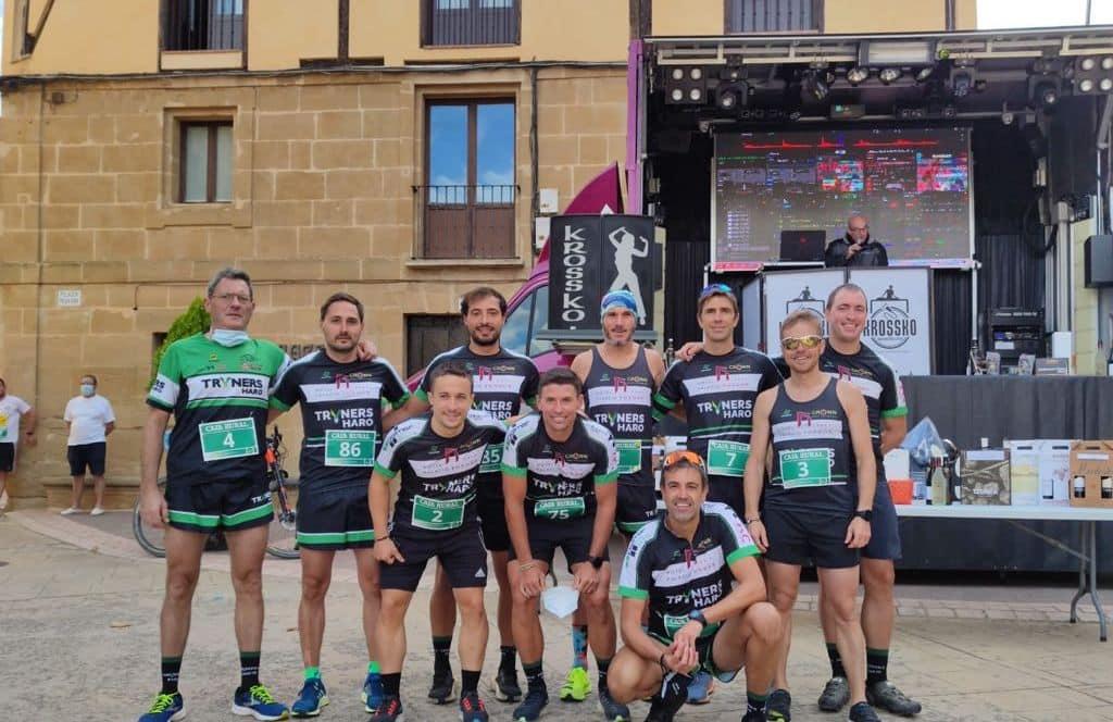 Éxito de la primera carrera 'Meandro del Ebro' de Briñas 2