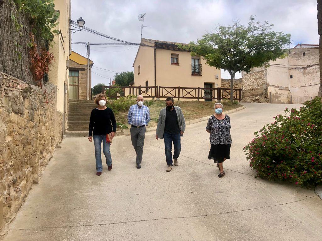 Inversión de 450.000 euros para mejorar infraestructuras y servicios en Briñas, Ábalos y Gimileo 1