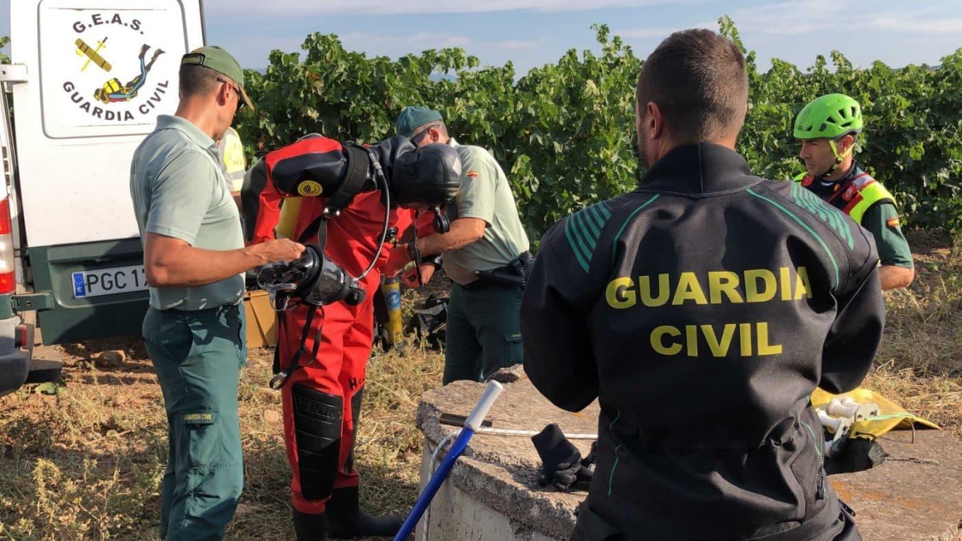 La Guardia Civil continúa con la búsqueda del joven desaparecido en Entrena 2