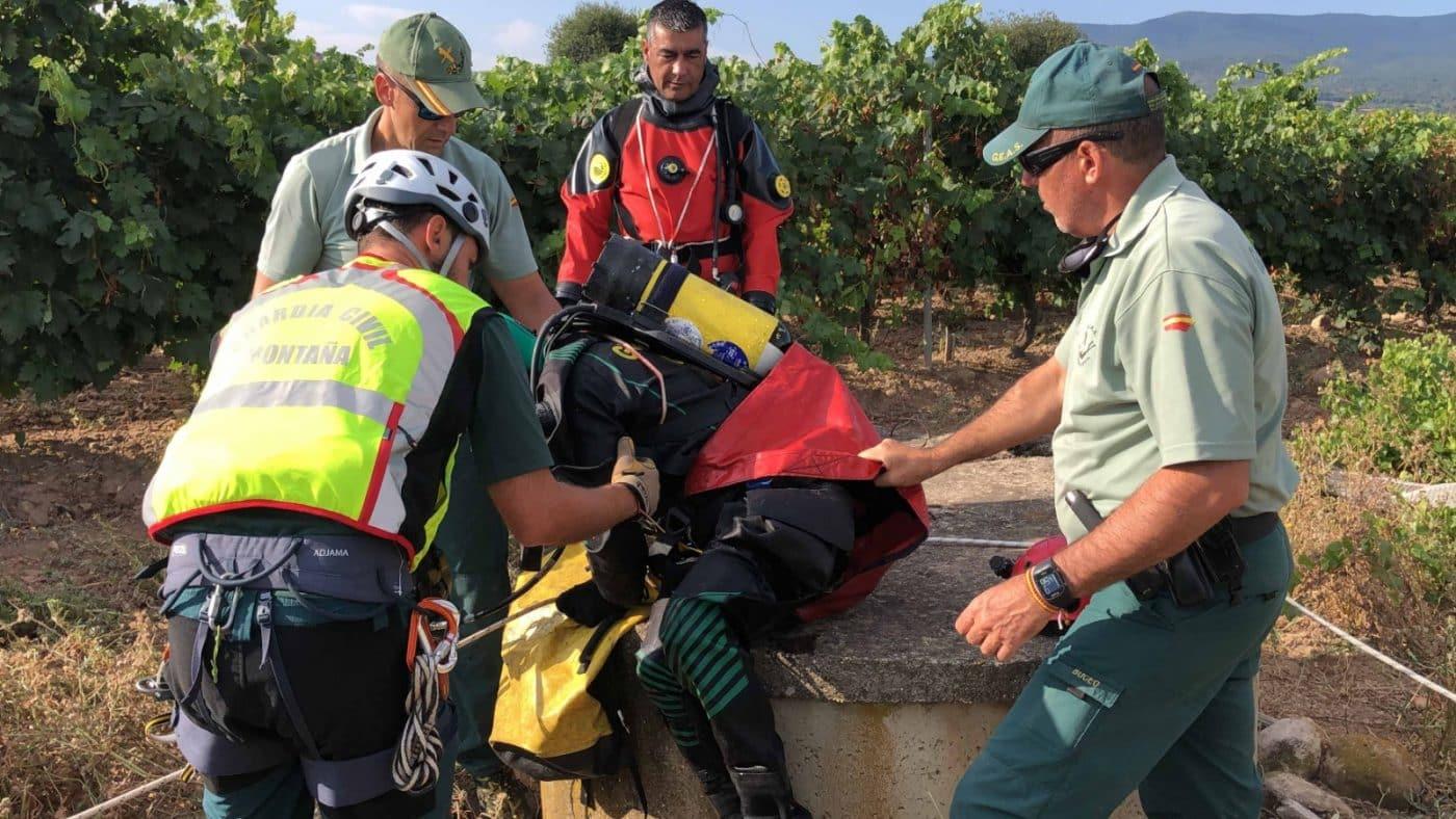 La Guardia Civil continúa con la búsqueda del joven desaparecido en Entrena 6