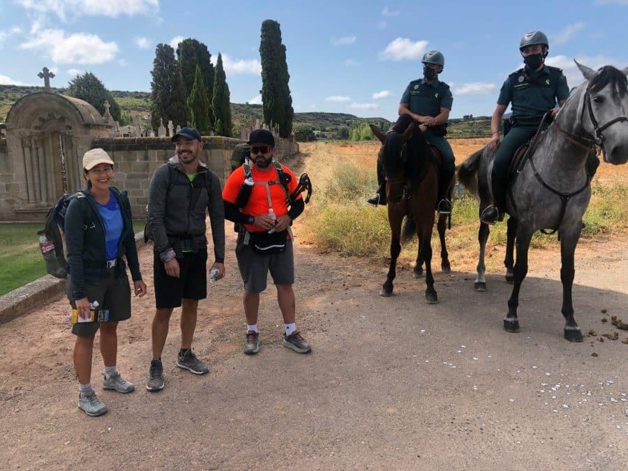 La Guardia Civil despliega en La Rioja su Unidad de Caballería y las Oficinas Móviles de Atención al Peregrino 6