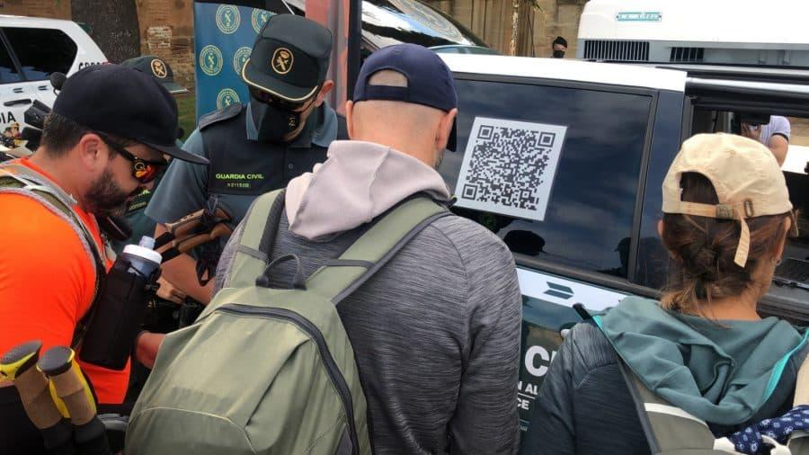 La Guardia Civil despliega en La Rioja su Unidad de Caballería y las Oficinas Móviles de Atención al Peregrino 5