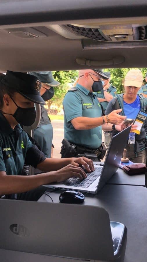 La Guardia Civil despliega en La Rioja su Unidad de Caballería y las Oficinas Móviles de Atención al Peregrino 1