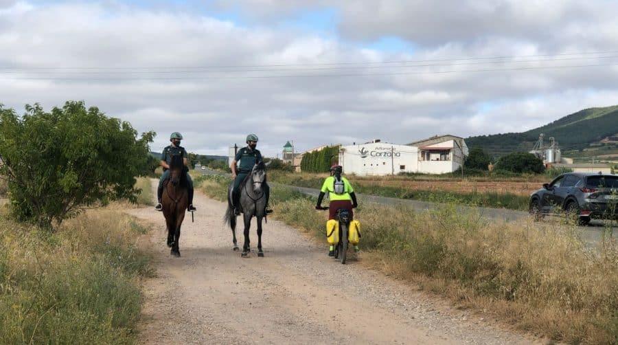 La Guardia Civil despliega en La Rioja su Unidad de Caballería y las Oficinas Móviles de Atención al Peregrino 7