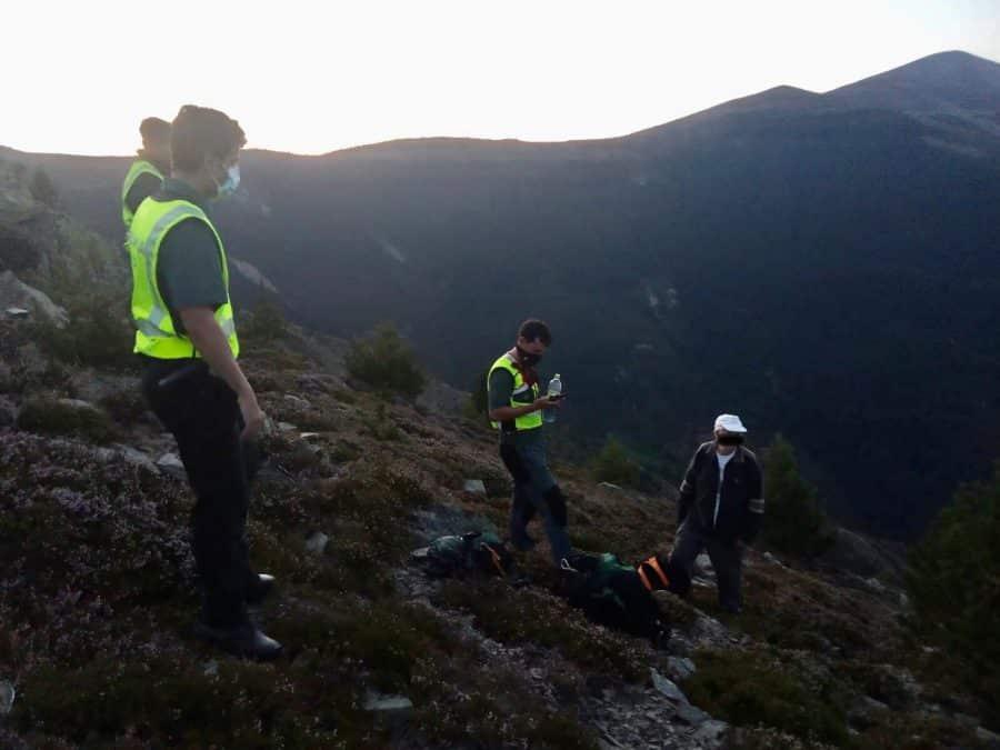 La Guardia Civil localiza a un fraile que se había perdido en el pico San Lorenzo 1