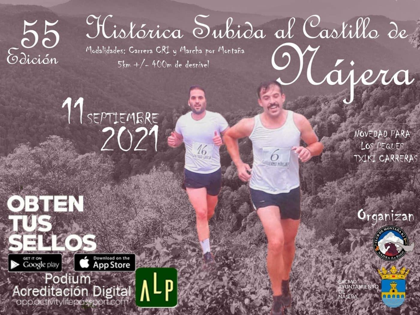 La Histórica Subida al Castillo de Nájera ya tiene fecha: 11 de septiembre 1