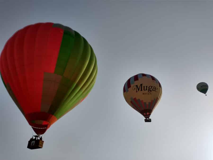 Los globos son para el verano en Haro 2