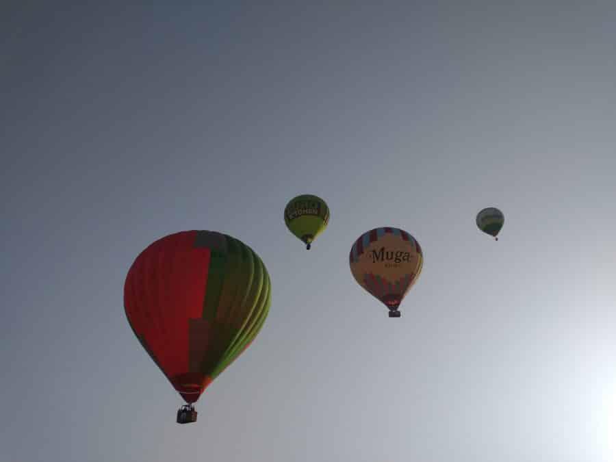 Los globos son para el verano en Haro 3