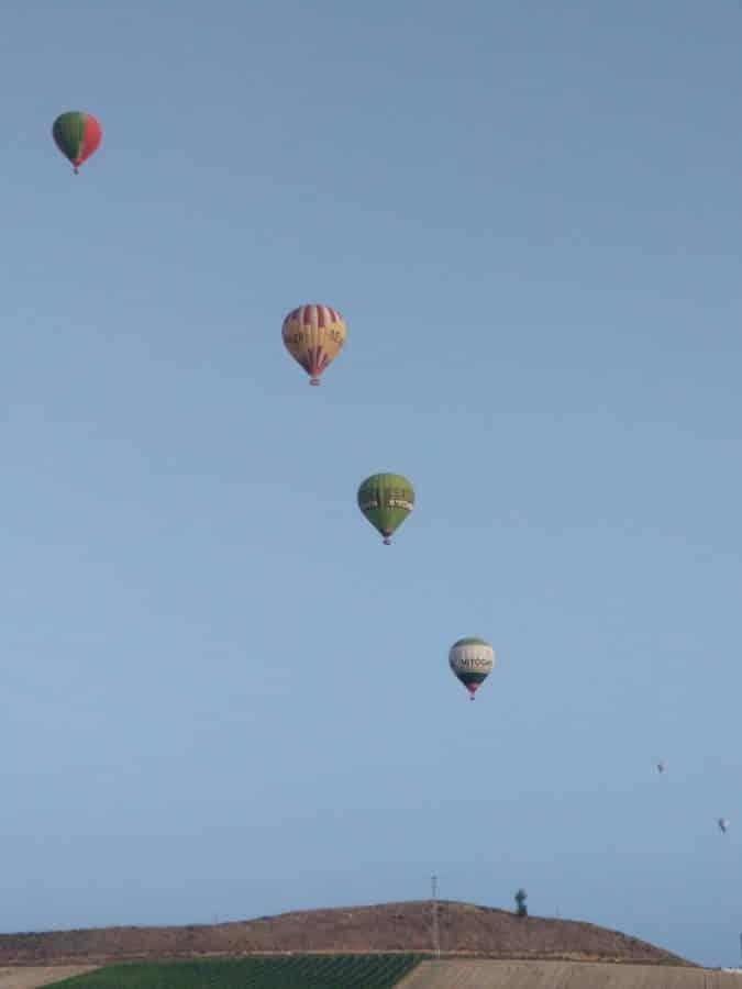 Los globos son para el verano en Haro 5