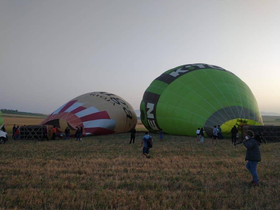 Los globos son para el verano en Haro 1