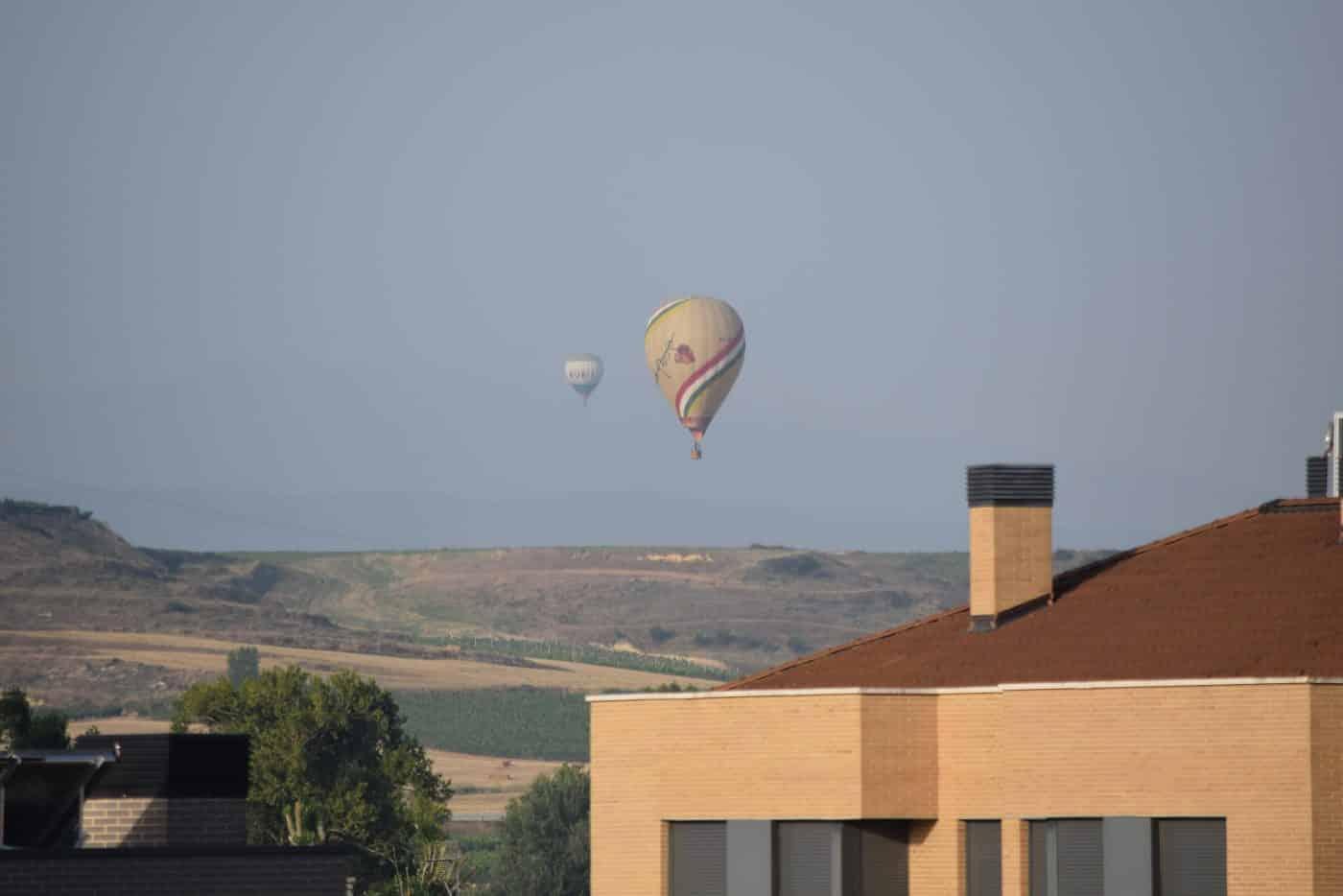 Los globos son para el verano en Haro 10