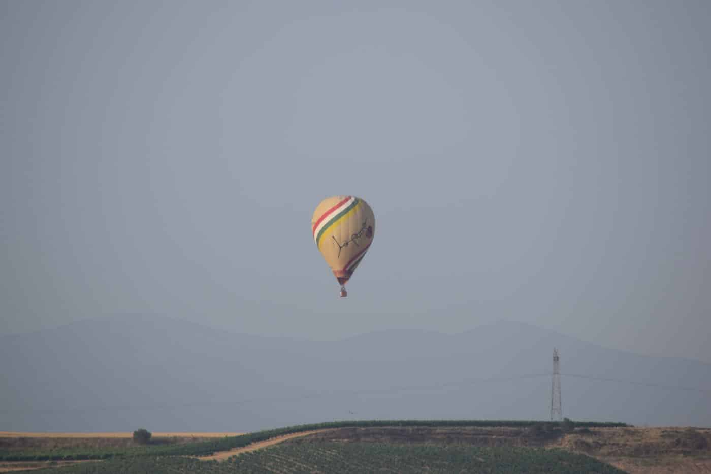 Los globos son para el verano en Haro 11