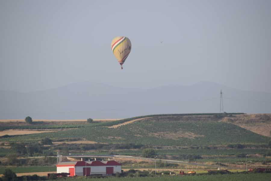 Los globos son para el verano en Haro 12