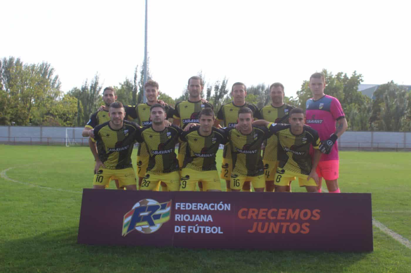 El Alfaro alza el trofeo regional de la Copa RFEF ante el Casalarreina 5
