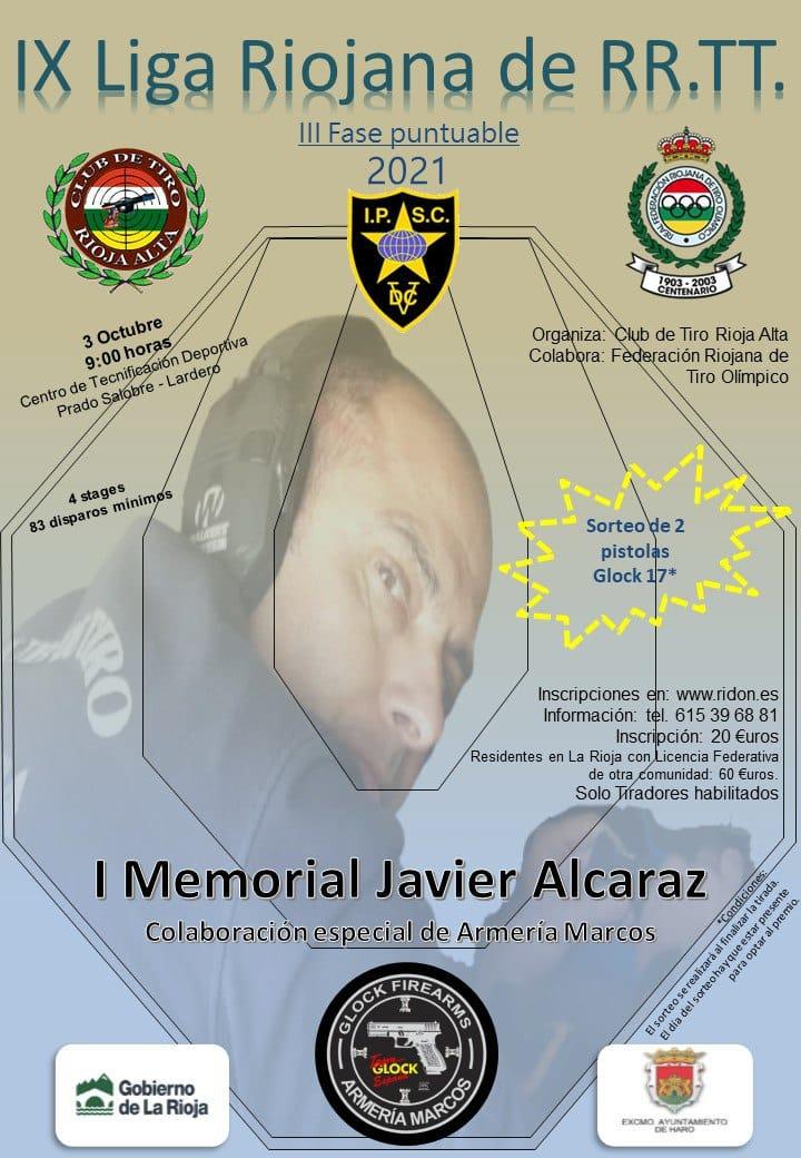 Carlos Javier Sánchez Pardo, subcampeón del Campeonato de España de recorridos de tiro 1