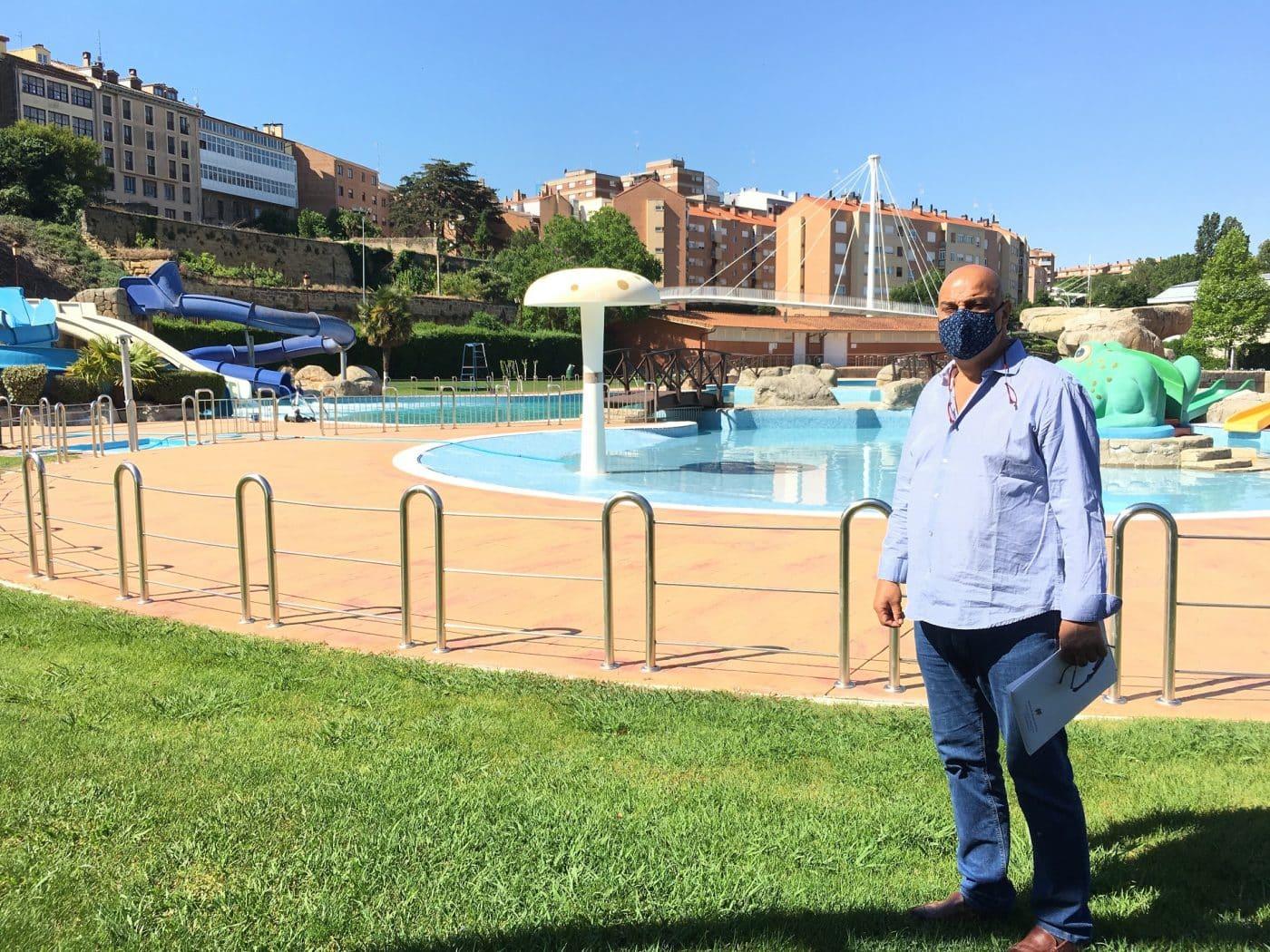 Las piscinas de verano de Haro registran 70.000 accesos, cerca de un 80 por ciento más que en 2020 1