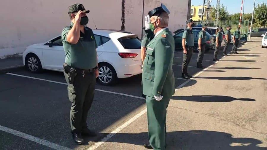 Homenaje al sargento Nevado en el cuartel de la Guardia Civil en Haro por su pase a la reserva 6