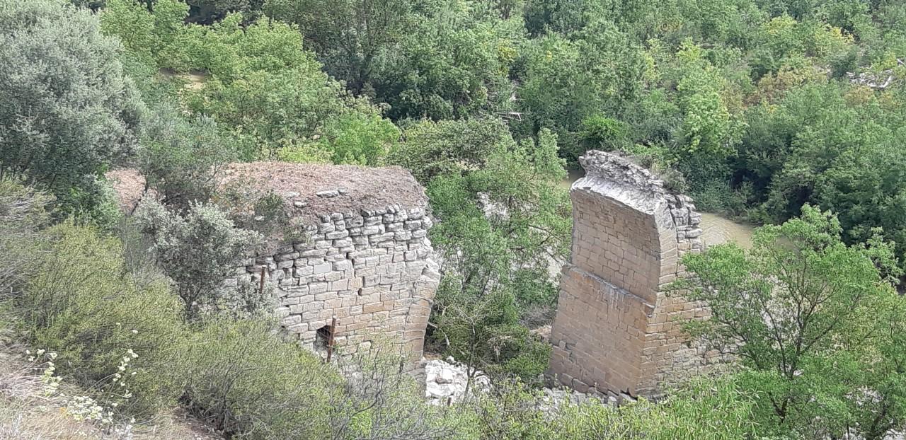 Arrancan los trabajos de consolidación y restauración de los restos de Puente Mantible 1