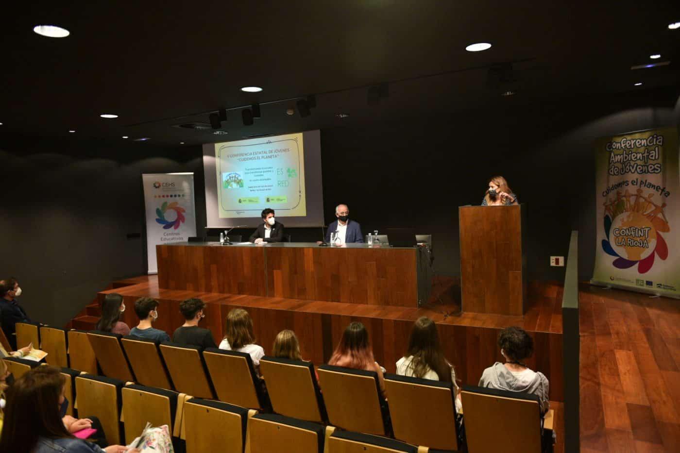 14 alumnos representarán a La Rioja en la V Conferencia de Educación Ambiental Confint 'Cuidemos el Planeta' 1