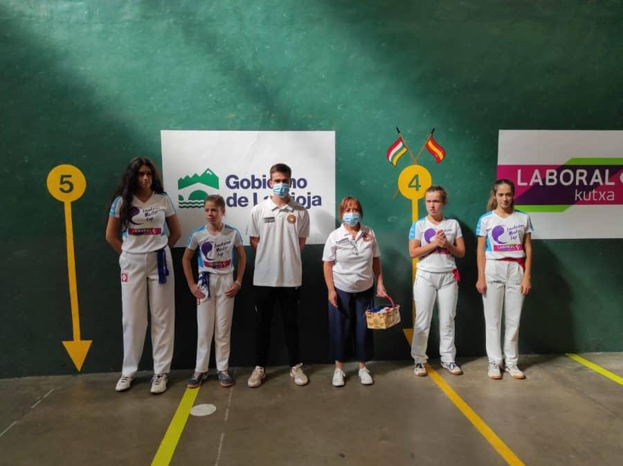 Ana Belmonte y Leire Galeano, a la final del Torneo San Mateo de Pelota Femenina 5