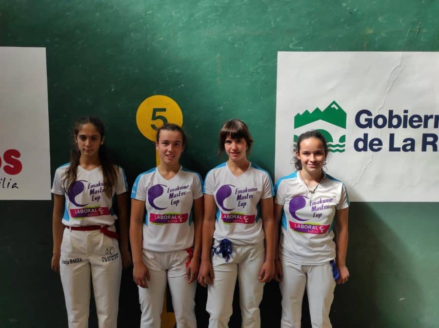Ana Belmonte y Leire Galeano, a la final del Torneo San Mateo de Pelota Femenina 2